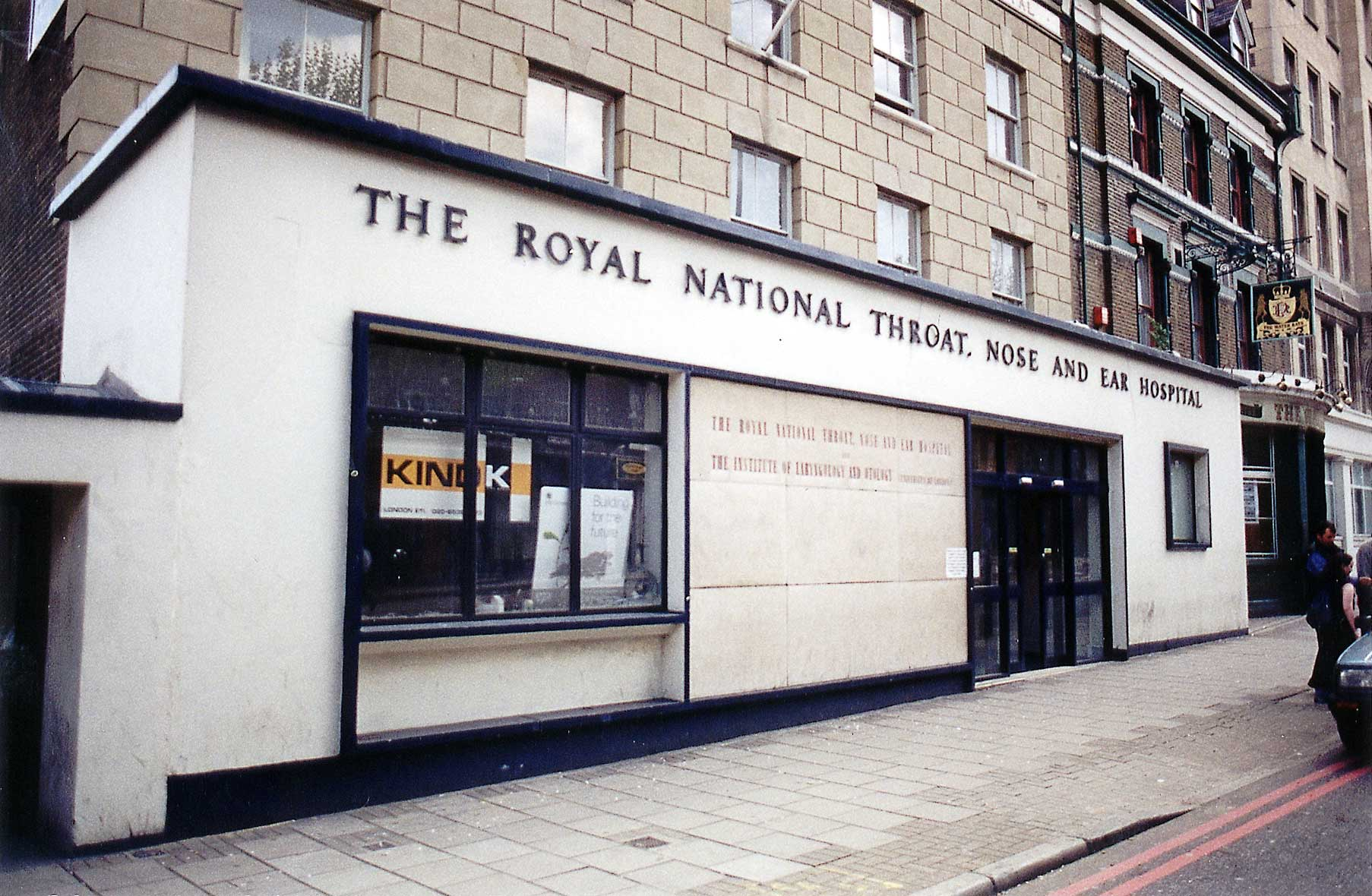 The royal national ear nose and throat hospital london 02